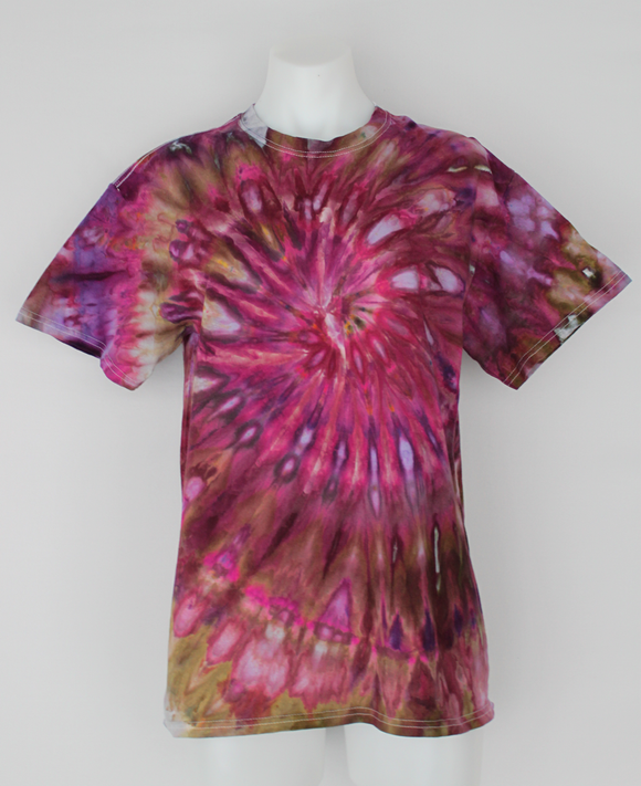 Men's t shirt - size Medium - Hibiscus Crown twist