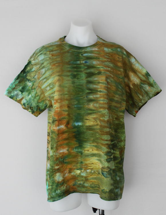 Men's t shirt size Large - Kortney's Meadow snakeskin