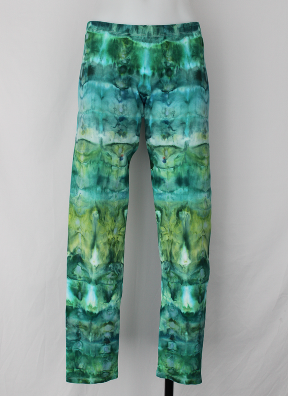 Leggings size XL - Mermaid's Tale stained glass