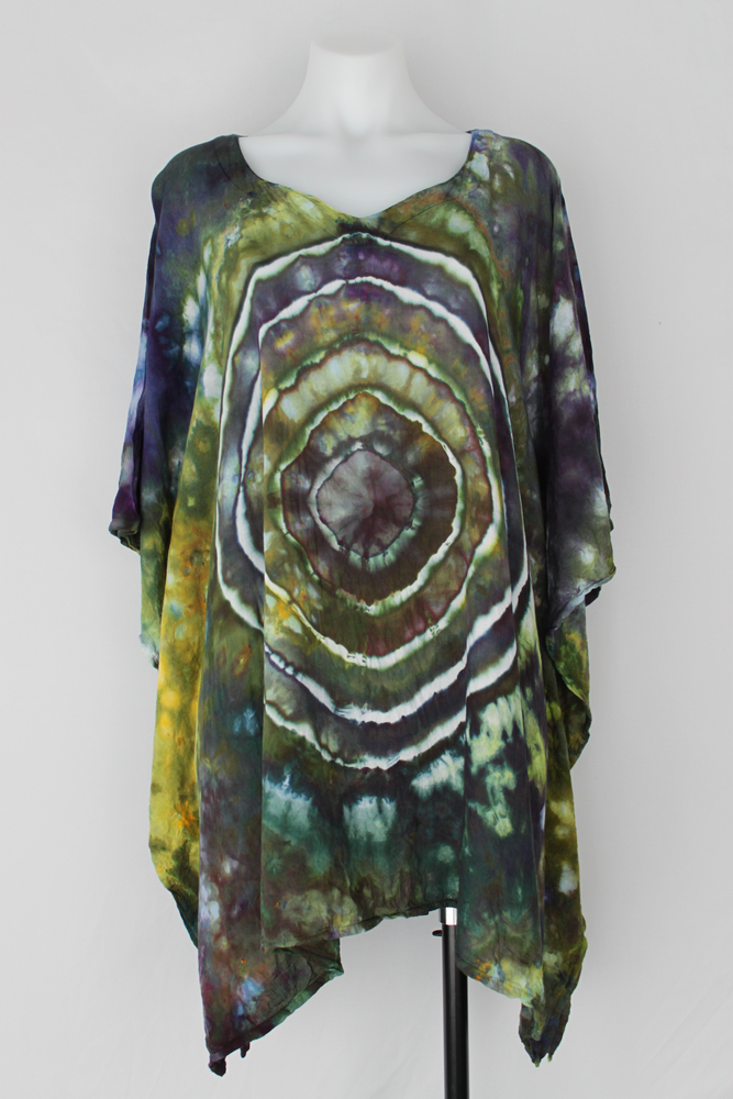 Rayon Poncho One size fits most - Turtle Bay mega eye