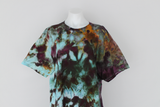 Men's cotton t shirt size XL - Chaotic Adventure crinkle