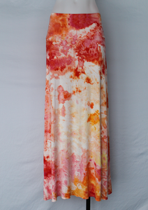 Tie dye Maxi Skirt - size Large - Angel Wing (1)