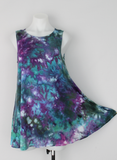 Sleeveless tunic size Small ice dye - Angelica crinkle