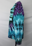 Ladies XXXL long sleeve tie dye shirt - Angelica twist