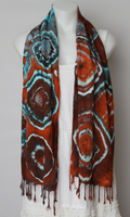 Tie dyed Scarf - Arizona Sky