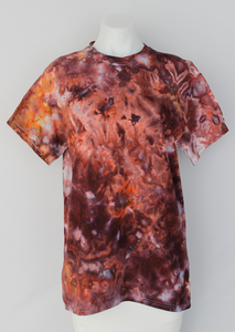 Men's t shirt - size Medium - Chocolate Trifle crinkle