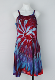 Sundress size Small - ice dye - Blue Persuasion twist