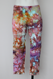 Capri leggings size Small ice dye - Carnival crinkle