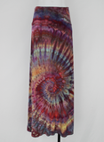 Maxi Skirt size Large- Color Burst twist