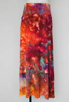 Ice dyed Maxi Skirt size Medium - Confetti crinkle