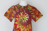 Men's small shirt ice dyed - Confetti twist