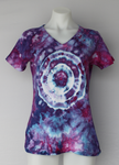 Tie dye shirt - size Small - ice dye - Dazzle mega eye