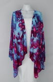 Waterfall Jacket rayon - size LG/XL - Dazzle crinkle