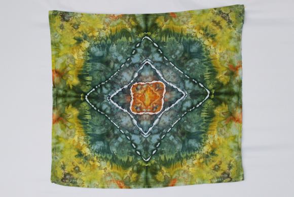 Flour sack towel cotton - ice dye - Envious Star