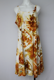 Sundress  - size Large - Ground Mustard bullseye