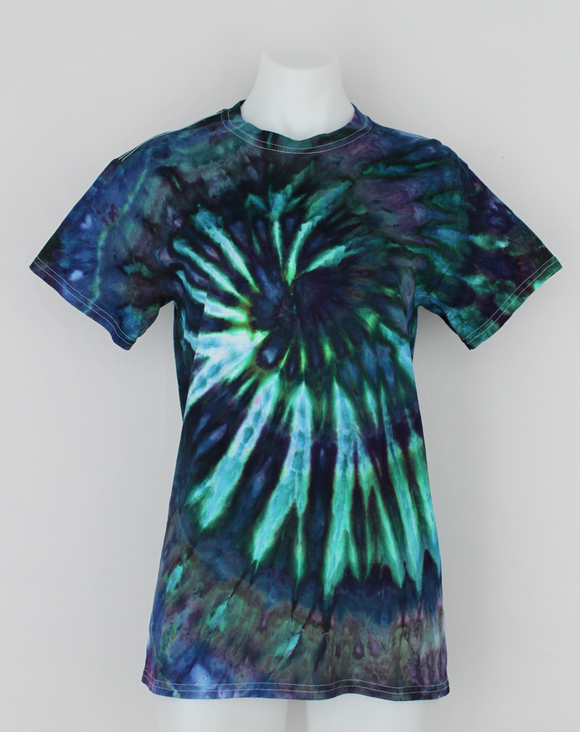 Ladies t shirt size Small - ice dye - Handful of Gems twist