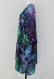 Rayon Poncho One size fits most - PLUS SIZE - Handful of Gems crinkle