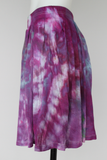 Mini Skirt - size Small - ice dye - Helen's Iris Patch