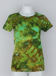 Ladies t shirt size Small - ice dye - Kortney's Meadow crinkle