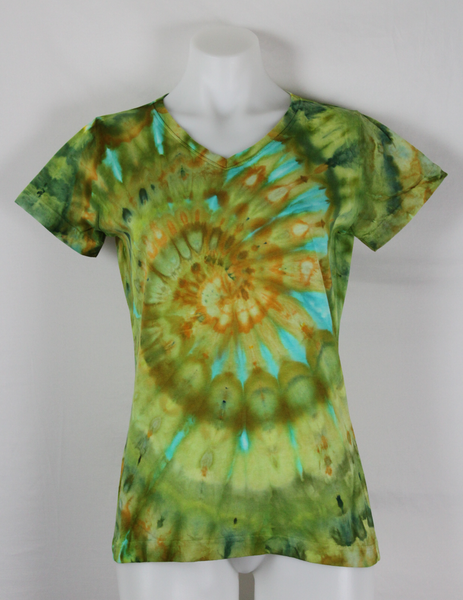 tie dye shirt - Ladies size Small - ice dye - Kortney's Meadow (2)