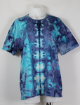 Men's ice dyed tee shirt - size Large - Mackenzie's Ocean