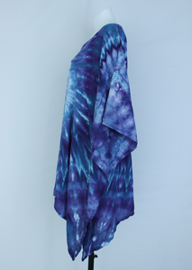Rayon Poncho One size fits most - Mackenzie's Ocean twist
