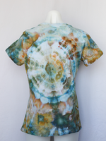 Ladies medium shirt ice dye tie dye - Marissa's Mist mega eye