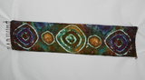 Rayon Scarf ice dyed - Na's Favorite bulls eye