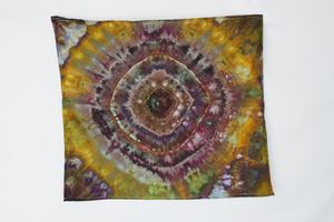 Cotton Flour sack towel - ice dye - Na's Favorite mega eye