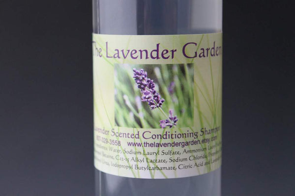Lavender scented conditioning Shampoo - 8 oz bottle