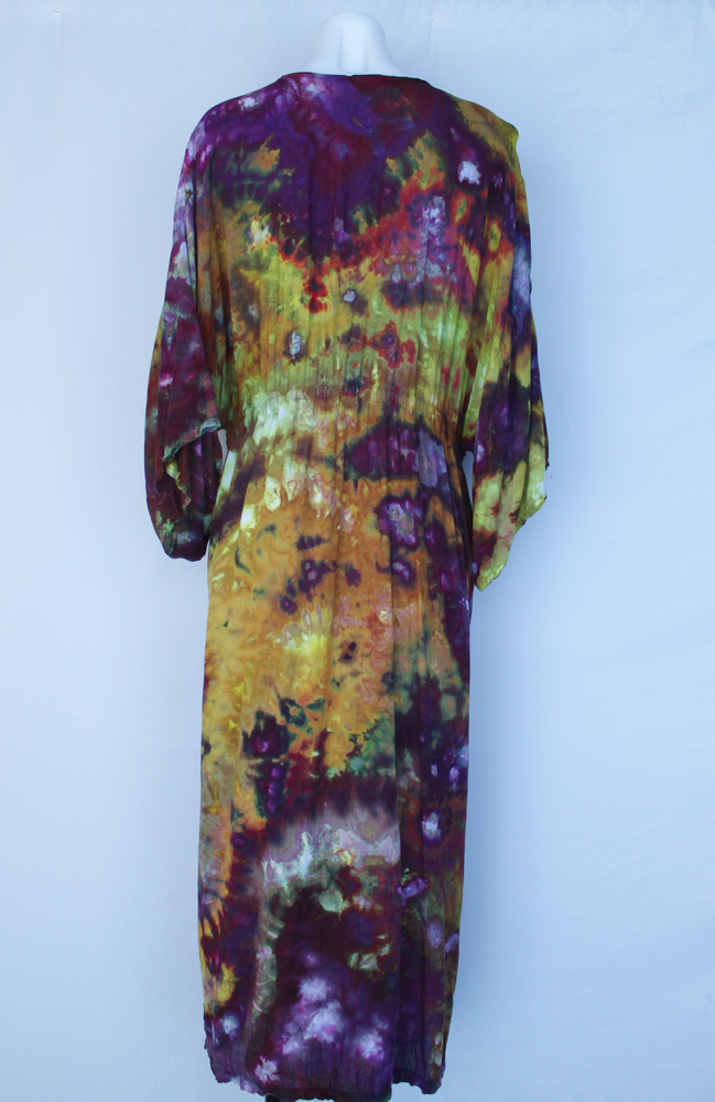 Long tie front Kimono Duster - size Large - Turkish Heirloom