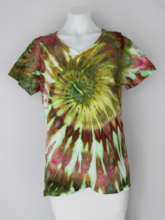 Ladies t shirt size Large - Waterlilies twist