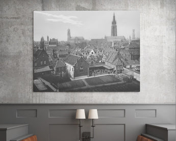 Bruges Skyline with playground (1930's)