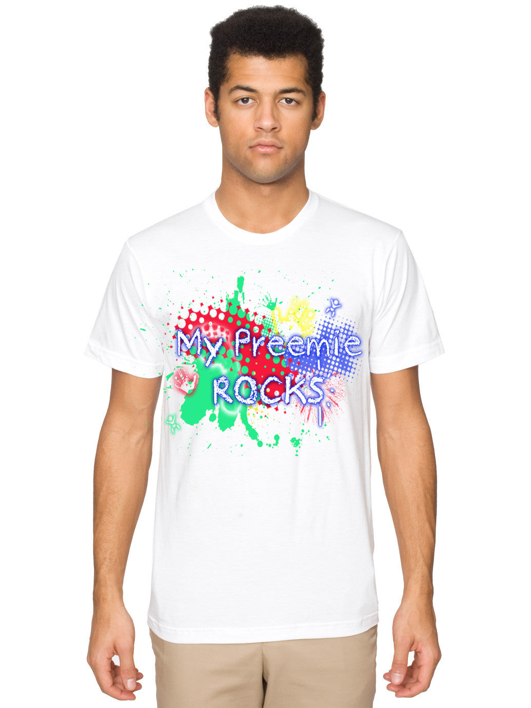 White MPR Signature Tee