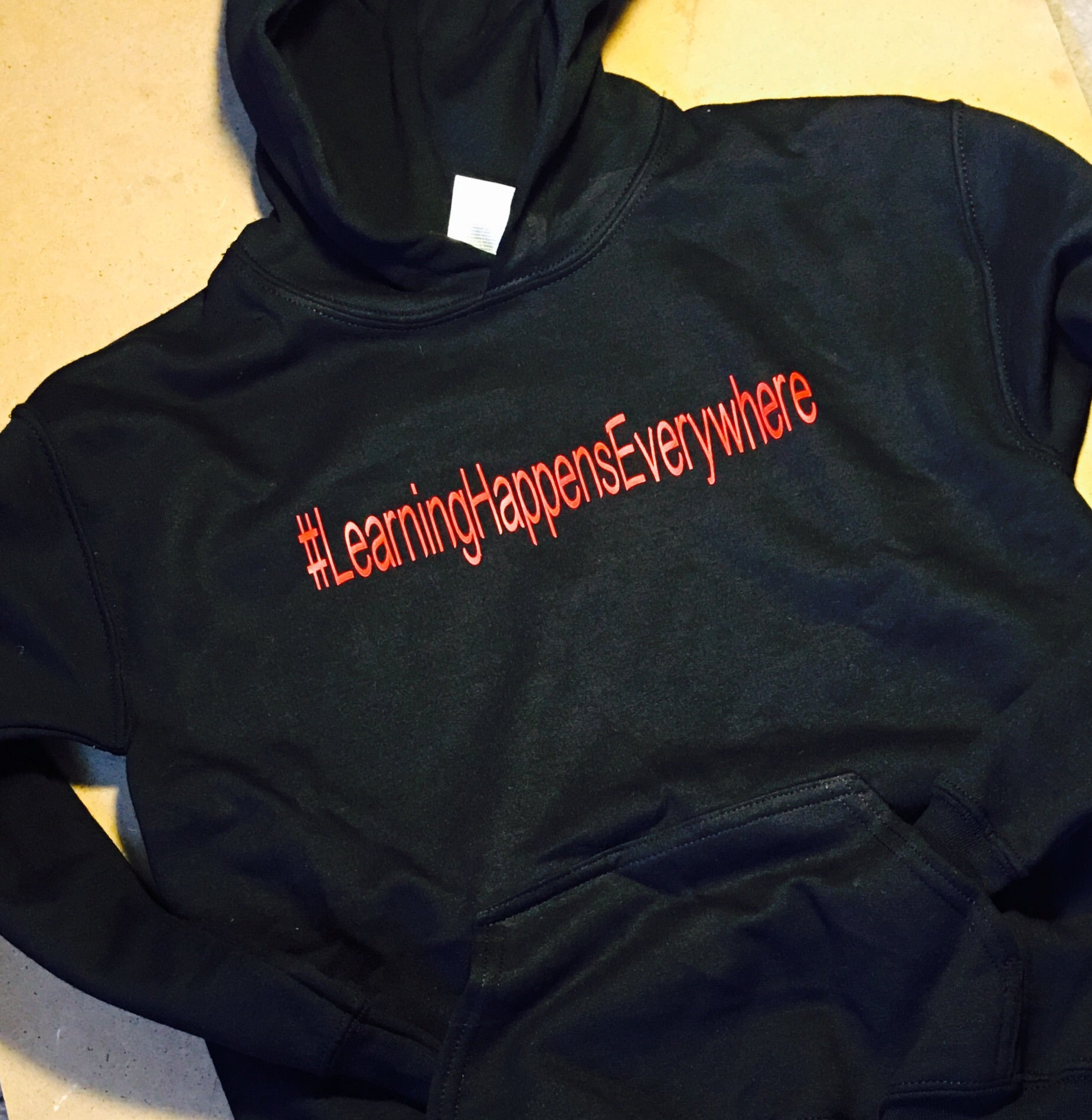 Learning Happens Everywhere Hoodie