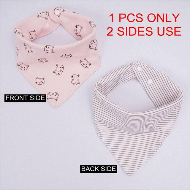 (1PCS ONLY) High quality cotton baby bibs