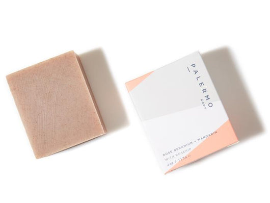 Body Soap - Rose Geranium + Mandarin