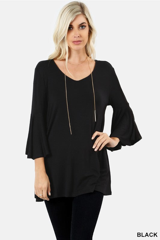 Black Backless Top