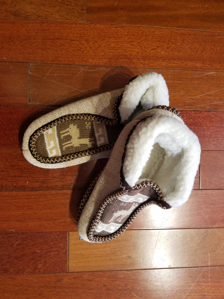 Deer slippers
