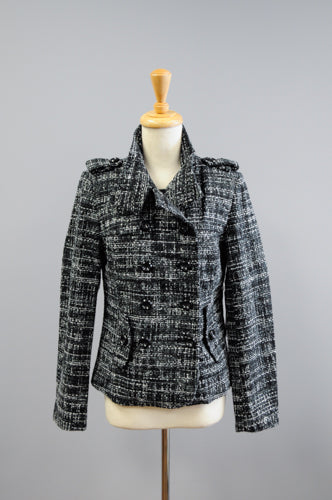 Textured pattern material coat