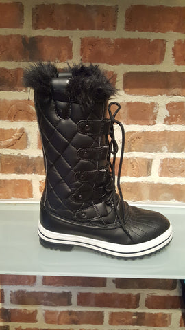 Frost 03 Lace Up Snow Boot