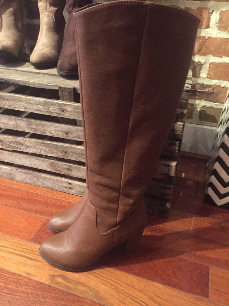 Brown Leather Boots Riding Boots