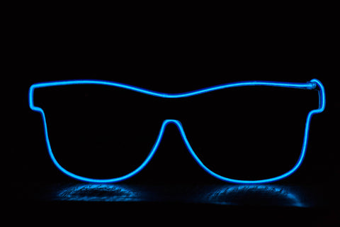 Wireless EL Glasses and Shades Accessories - Rave Gear