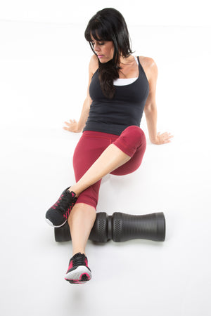 IntelliRoll FIRM Strong Foam Roller COMBO - IntelliRoll
