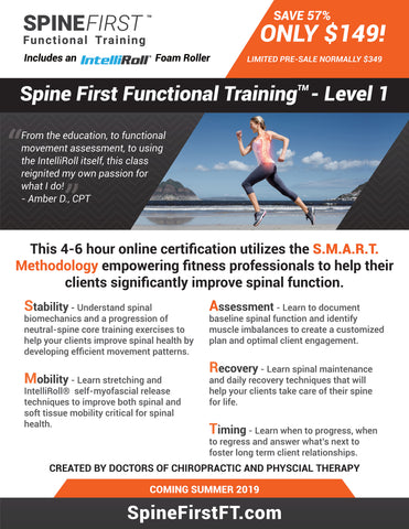 Spine-First Functional Training Certification – Level 1