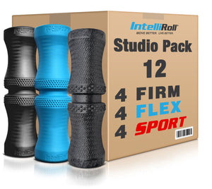 IntelliRoll FAMILY STUDIO PACK- 4 FIRM 4 FLEX 4 SPORT - Pre-order and save! Firm model on back order.  Estimated ship date: March 10, 2021. - IntelliRoll