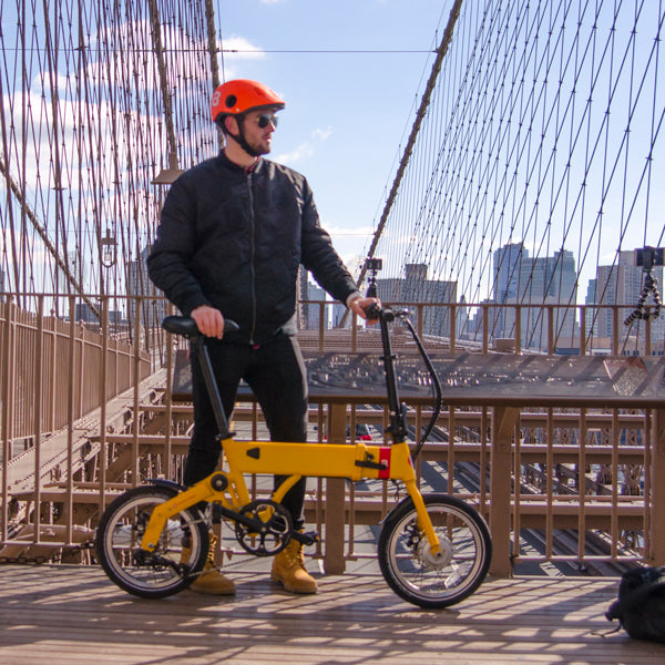Brooklyness Folding Electric Bike Subscription