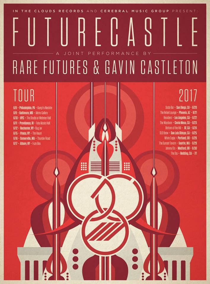 FUTURECASTLE Tour Poster