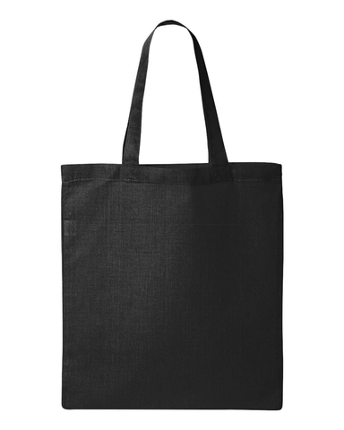 Custom Tote Bag - Black