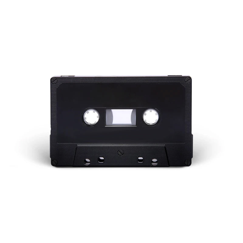 J-CARD Cassette Tapes (Black)
